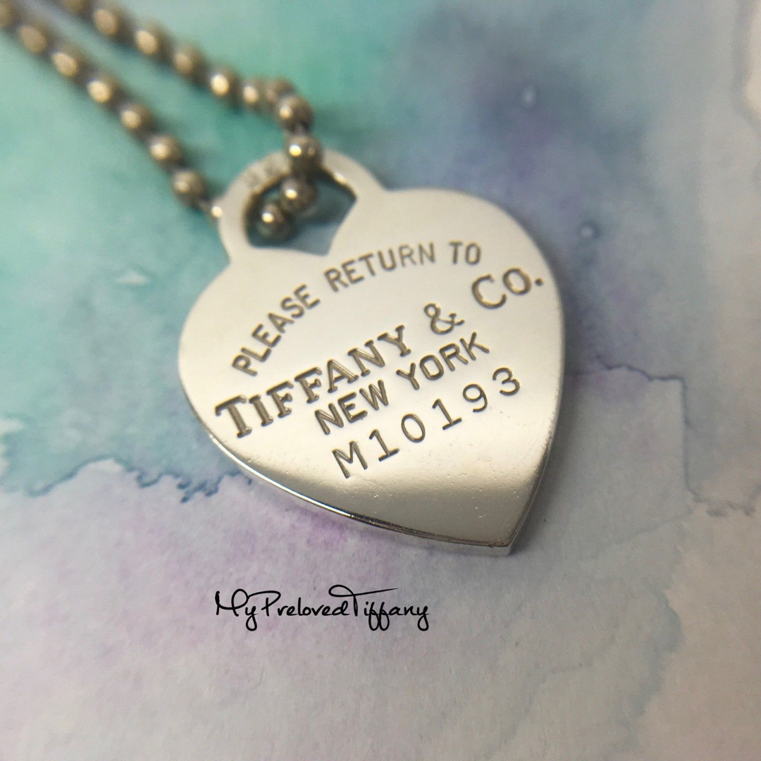 bd0a2e7ce Authentic Tiffany & Co Return To Tiffany Large Heart Tag Long Necklace,  Women's Fashion, Jewellery on Carousell
