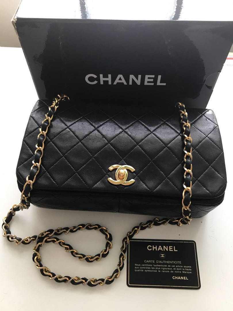 c7456c1039ac Authentic vintage chanel bag