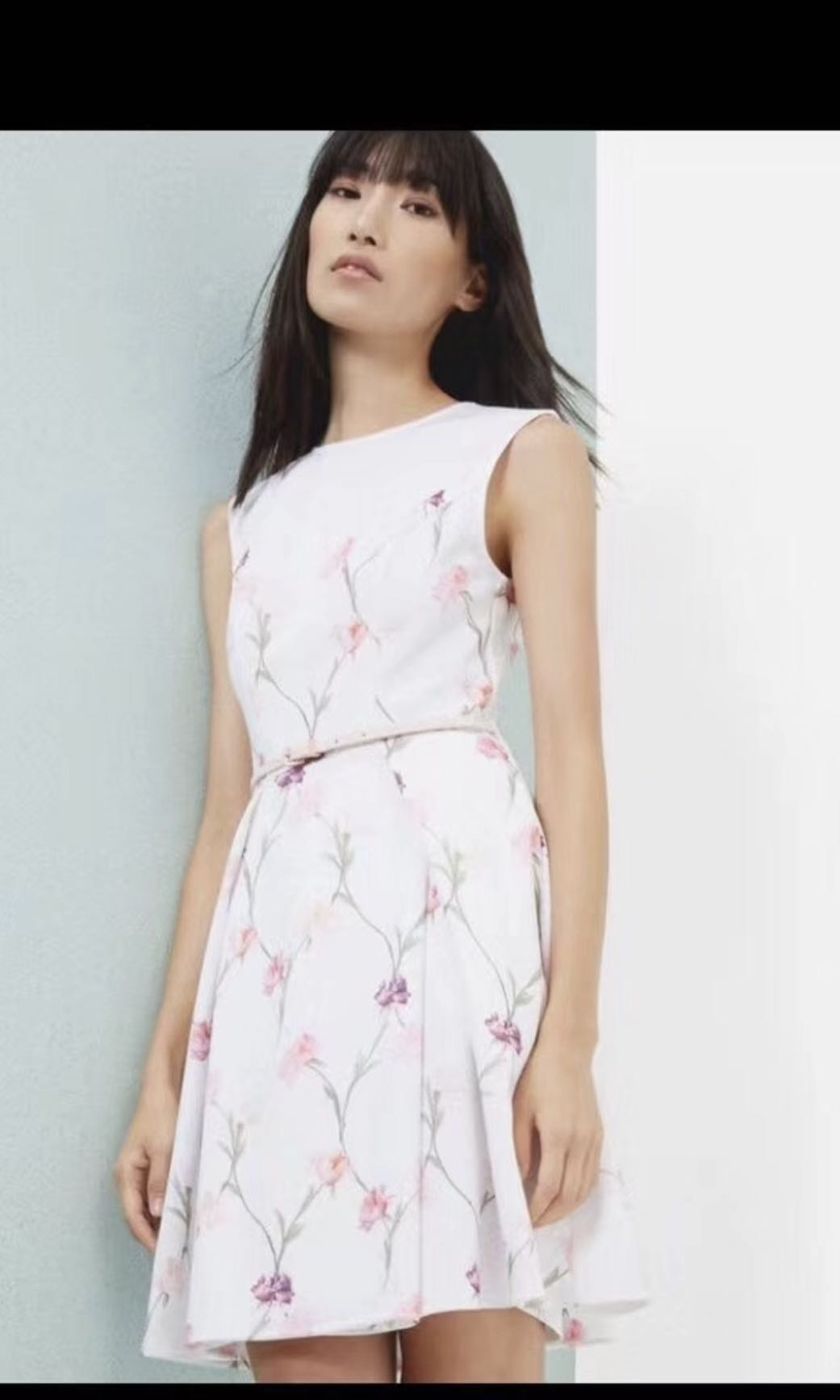 09824851e BNWT Ted Baker Dress with belt