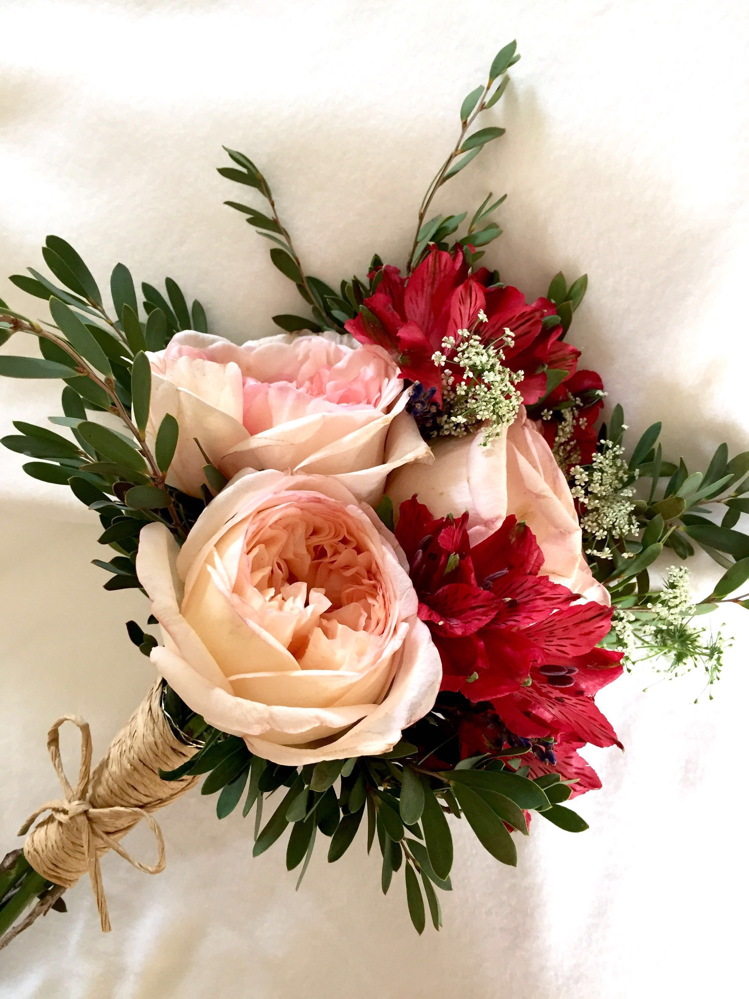 Bridal bouquet/ holland roses bouquet/ anniversary bouquet / flower ...
