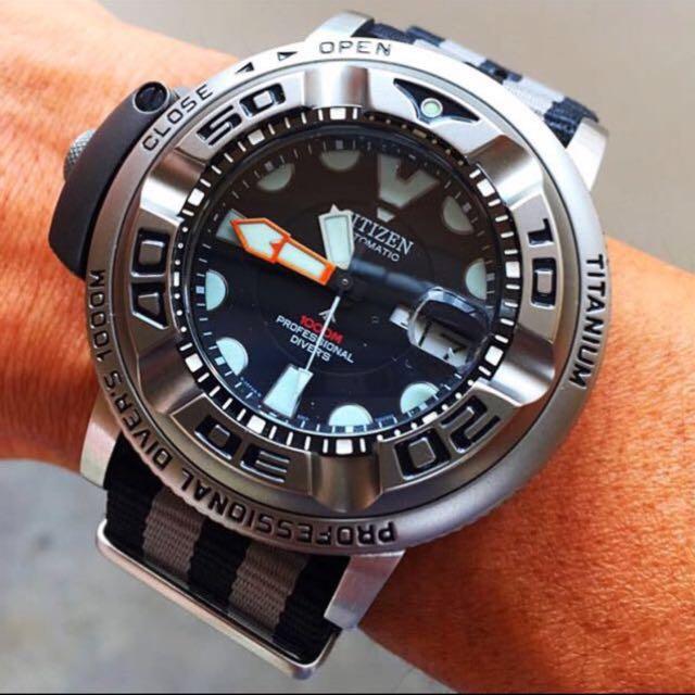 b8775bb25 Citizen Promaster 1000m Professional Diver s Automatic Watch NH6930  Autozilla Aqualand