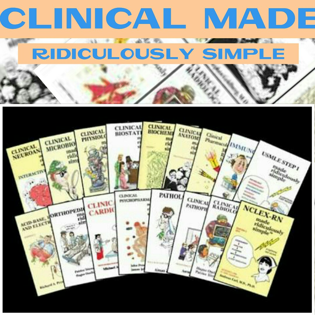 Clinical Made Ridiculously Simple COMPLETE SERIES MEDICINE MEDICAL ...
