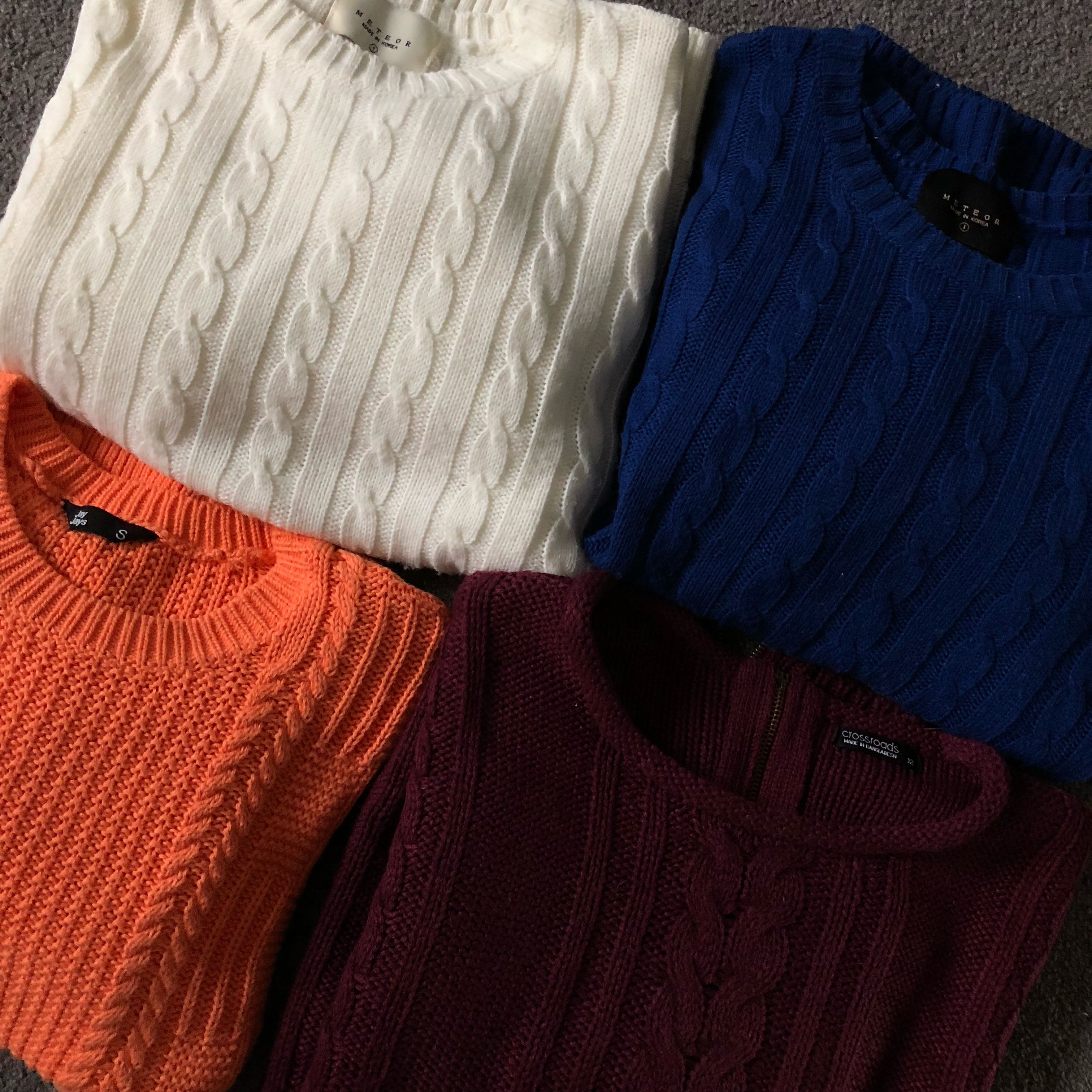 Colorful Knit