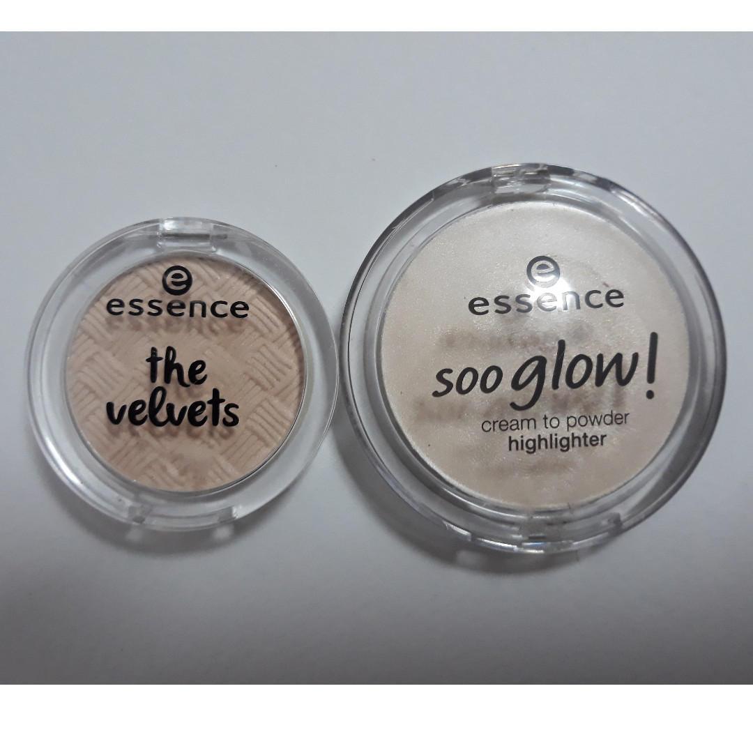 Essence Cream Highlighter and Eyeshadow