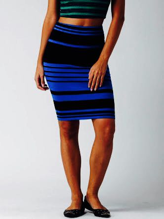 494c1c50845a Forever 21 Striped Pencil Skirt, Women's Fashion, Clothes, Dresses ...