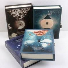 Journal Diary Notebook With Lock Box Feature