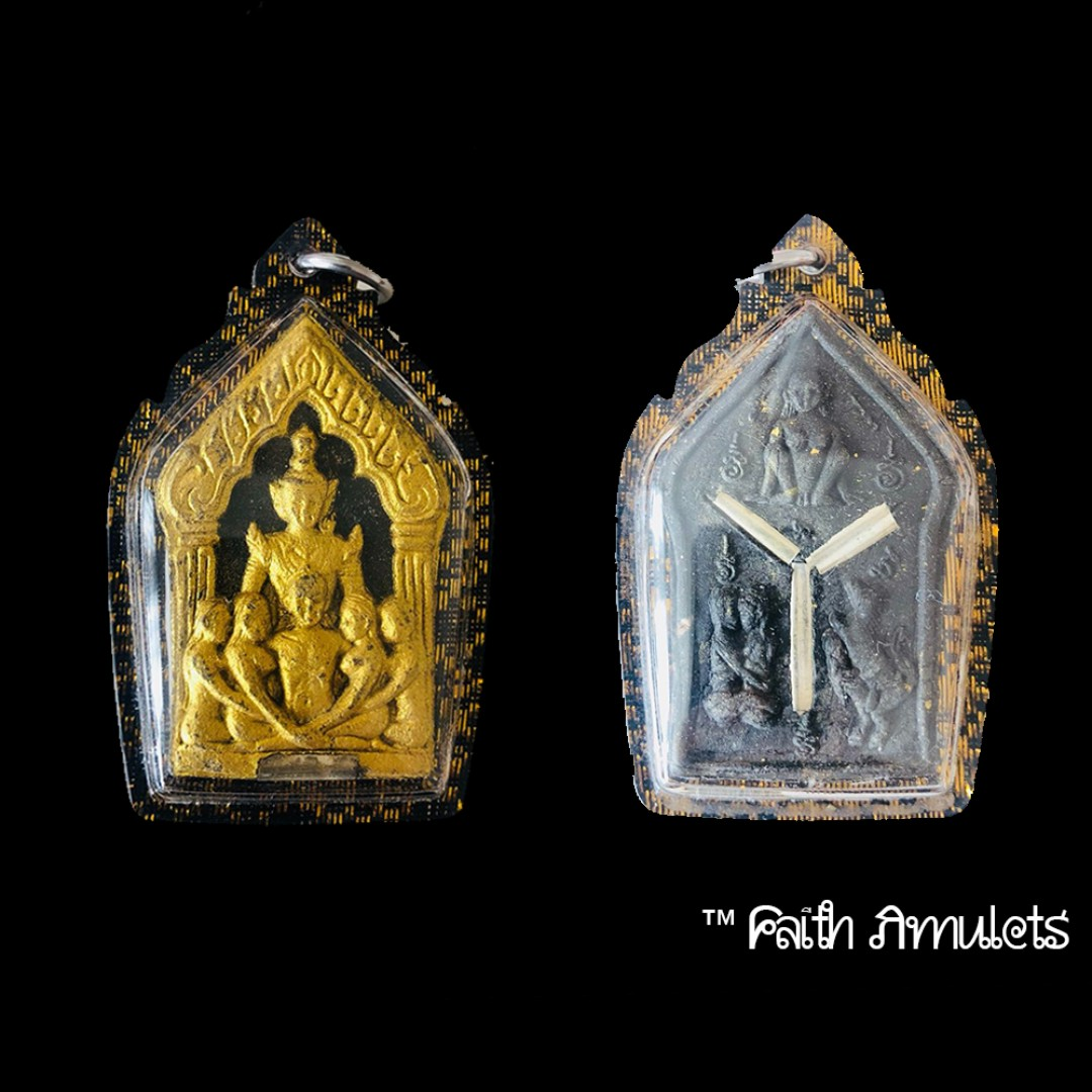 Khun Phaen Sam Aathan Ongk Kroo Pim B Vintage Collectibles Religious Items On Carousell