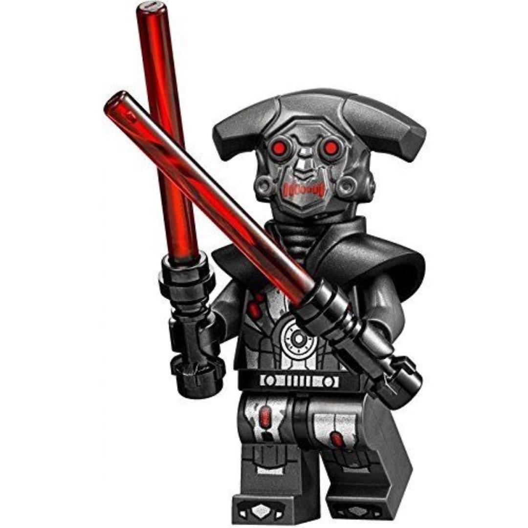 lego star wars  moc hunter droid 75185 minifigure new
