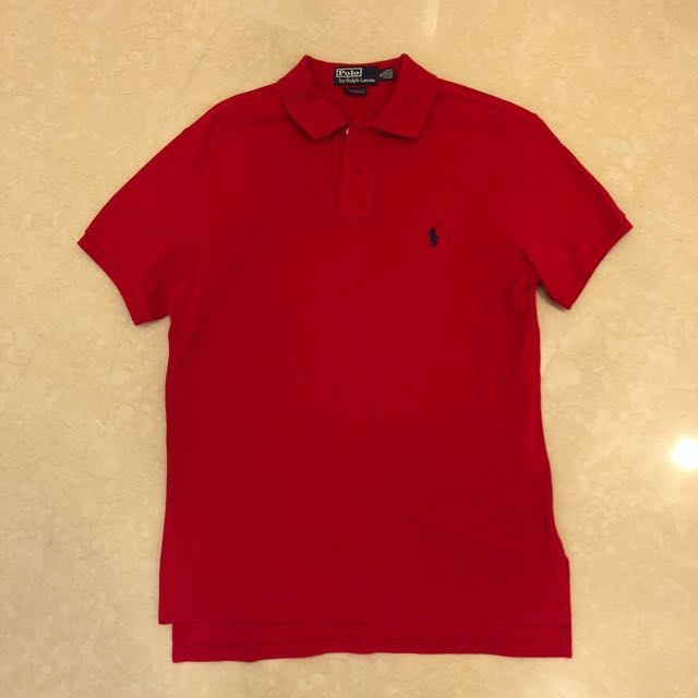best price like new ralph lauren logo mens tee in red size m mens fashion  clothes c97b6bf191