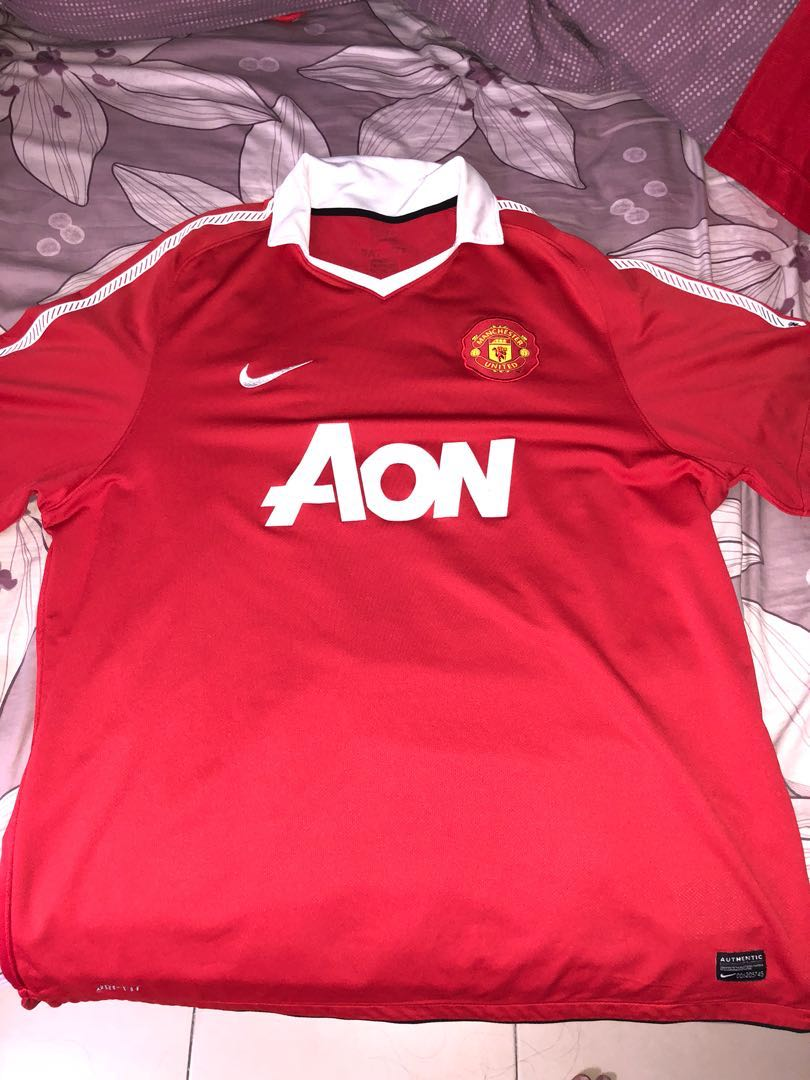 a1245739f Manchester United Home Jersey 2010 11 XXL