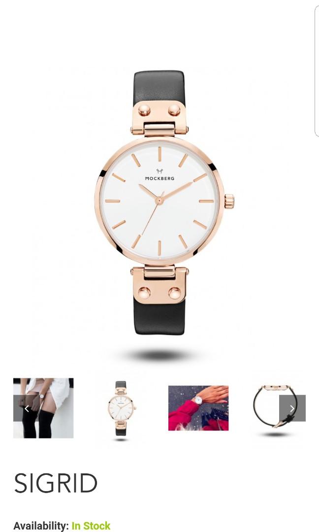 Mockberg Swedish watch brand new SIGRID