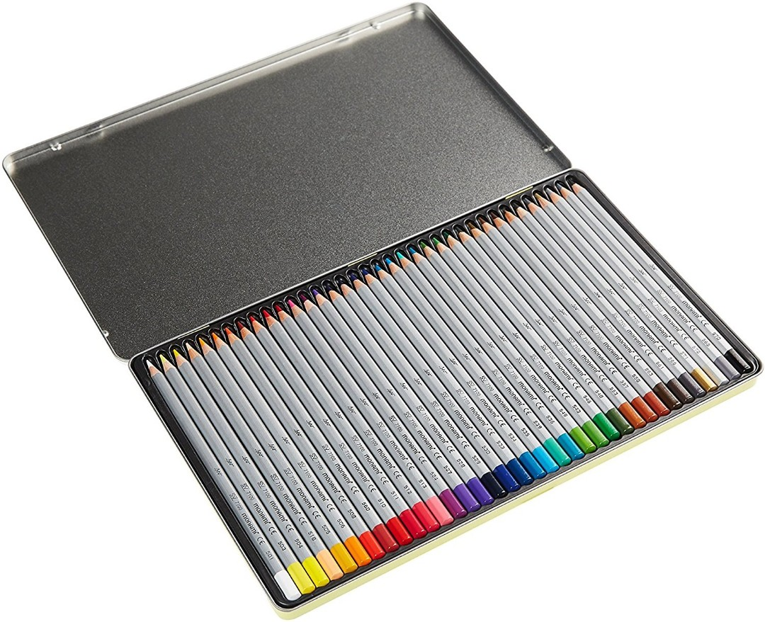 Monami Bauhaus 36 colour pencil