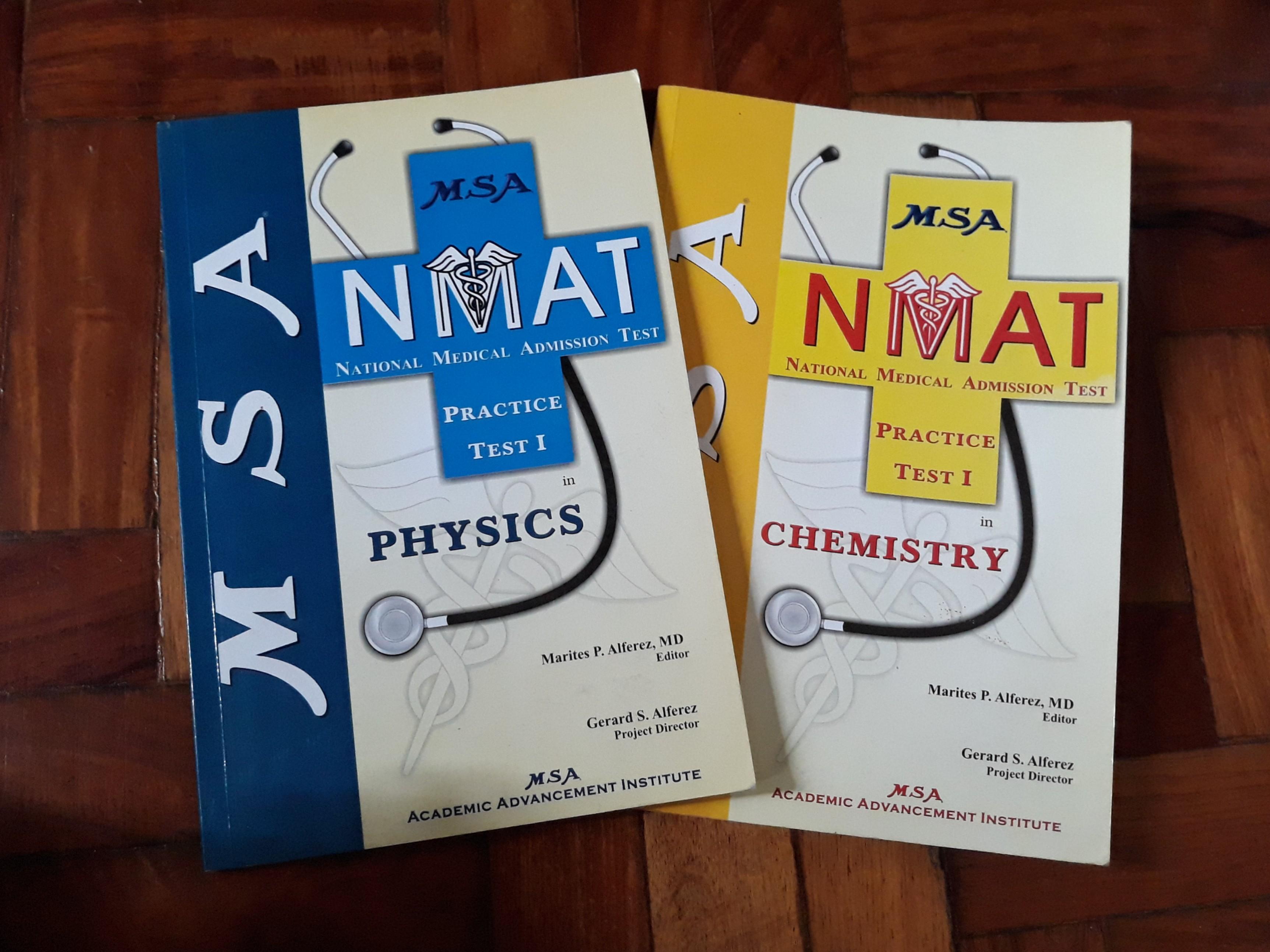 Get PDF MSA NMAT Practice Test I in Chemistry