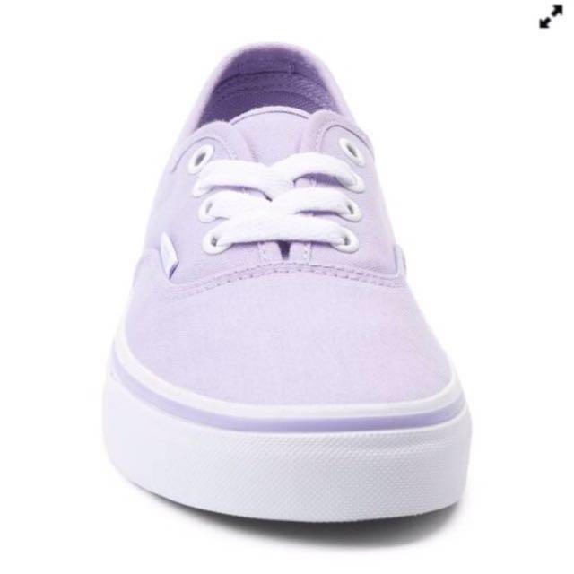 a5fa6078e6c5 New vans authentic skate shoe lavender pastel purple womens shoes ...