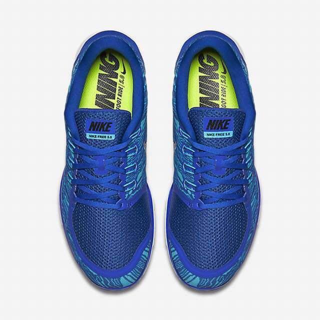46483bc7da50 Nike Free 5.0 Blue Men s Running shoes size US 10