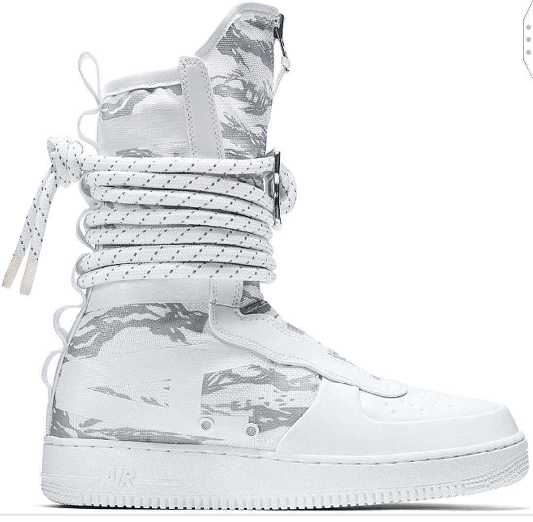 cc5b0f0fc3 Nike SF Air Force 1 High Winter Camo