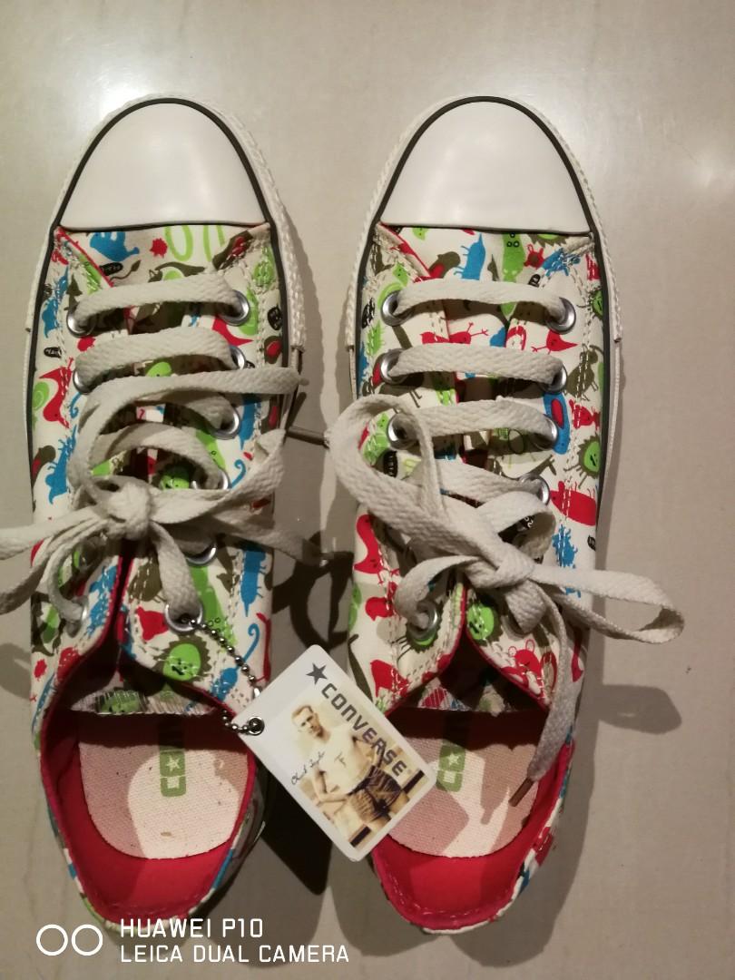 050728965e21 Original Converse Printed Shoes