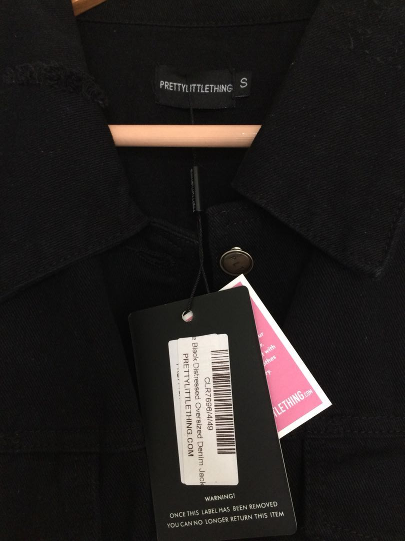 PLT Oversized Denim Jacket