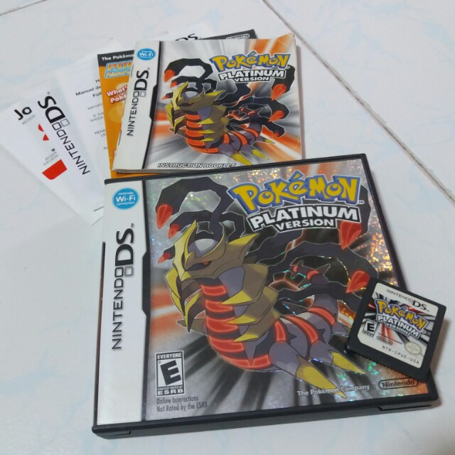 pokemon platinum extras