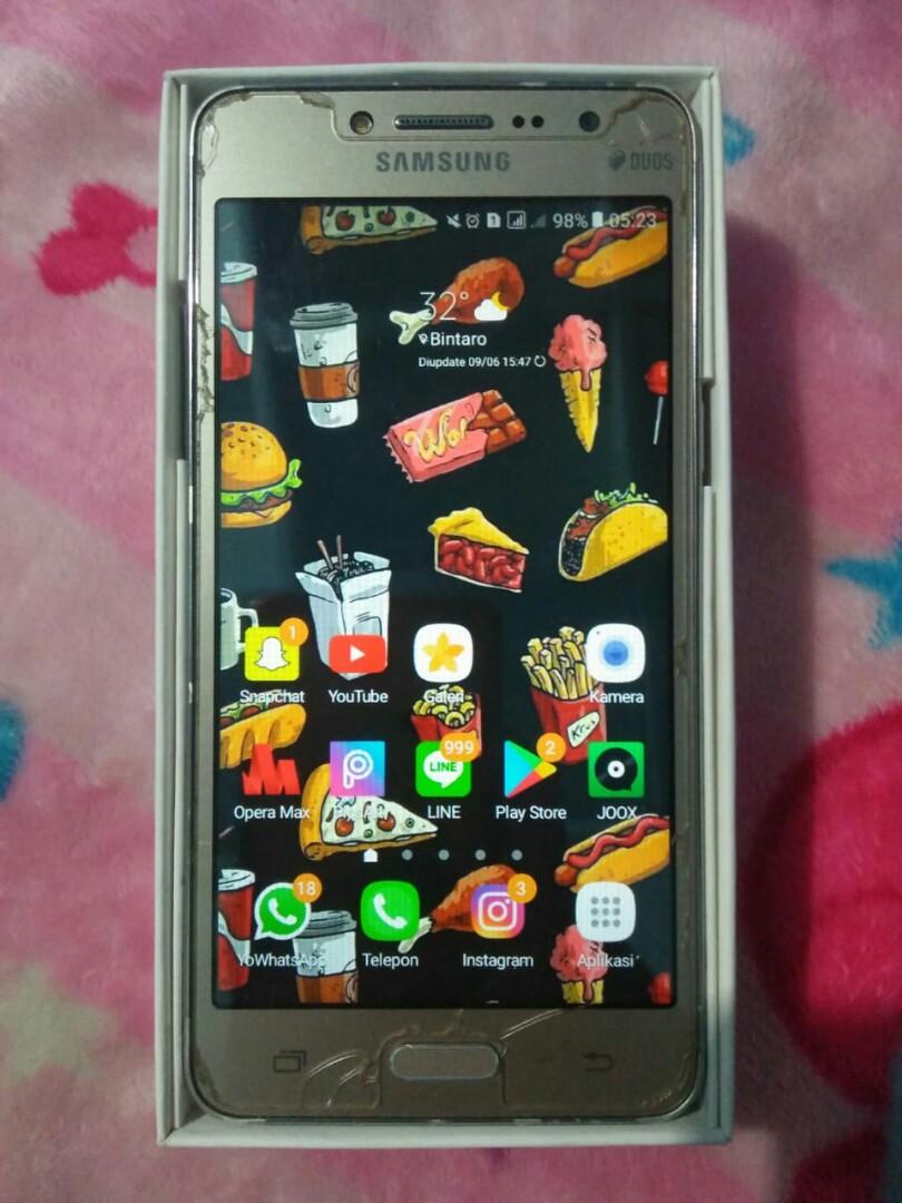 Samsung J2 Primenegoo Telepon Seluler Tablet Ponsel Android Di Carousell