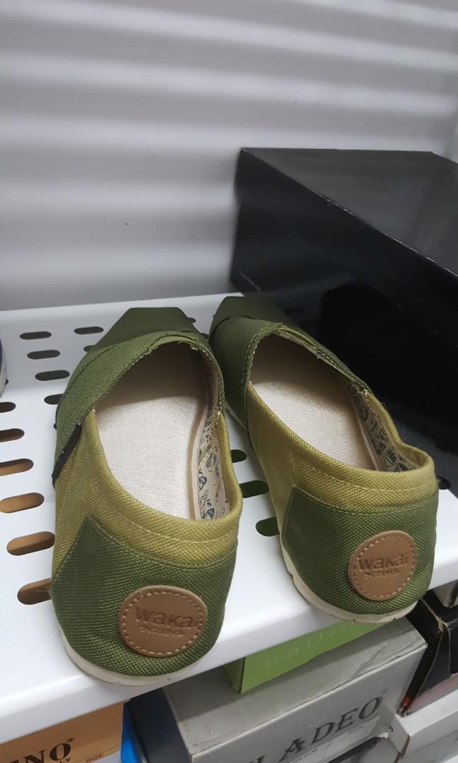 Sepatu Wakai Hijau