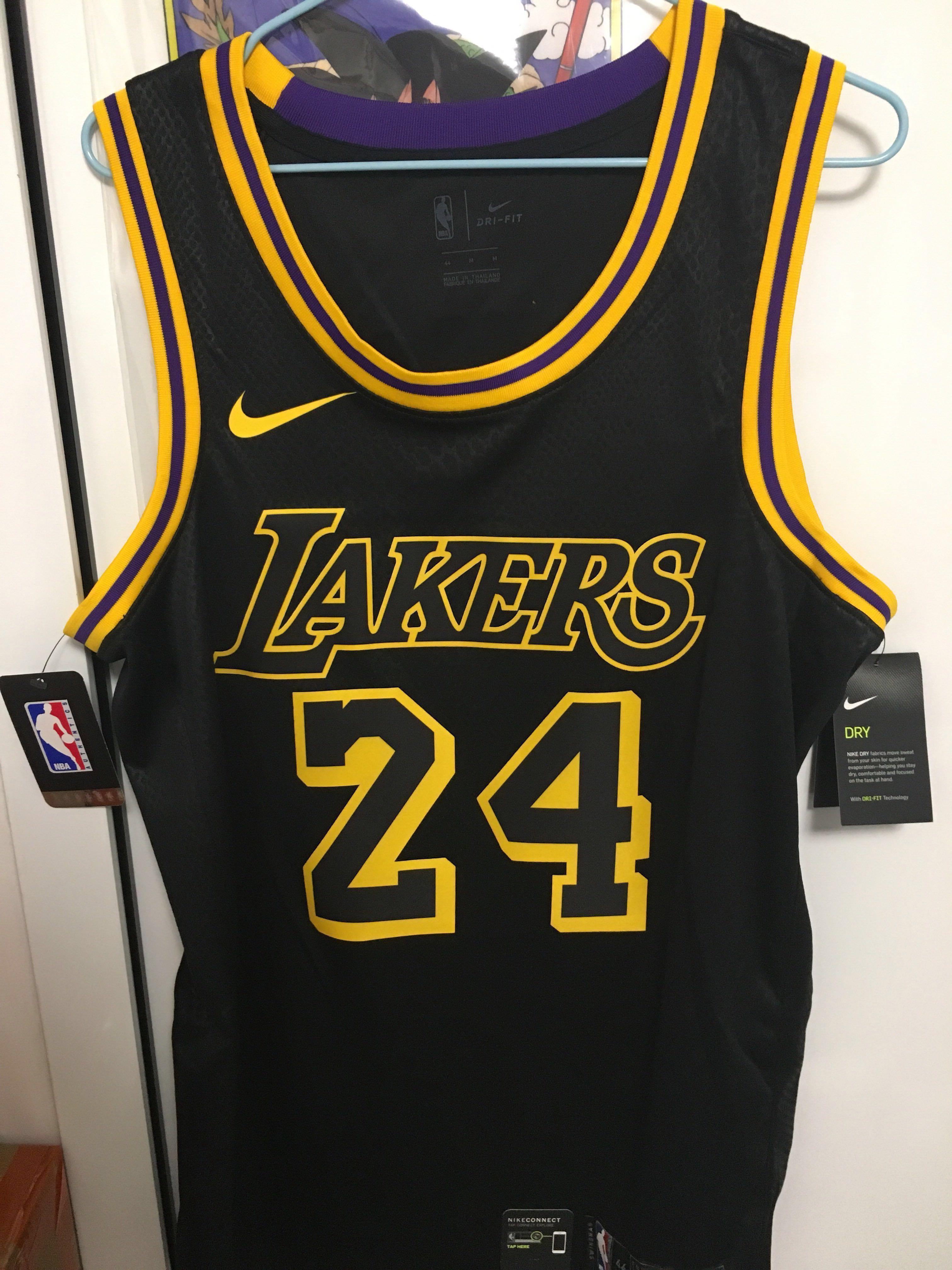 size XL Kobe Bryant City Edition Swingman (Los Angeles Lakers ...