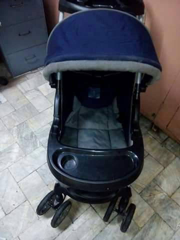 Stroller With Baby Carseat Rocker Babies Kids Strollers Bags Carriers On Carousell