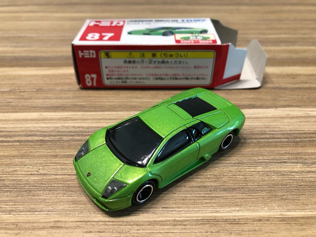 Tomica Lamborghini Murcielago Red Box No 87 First Color With New