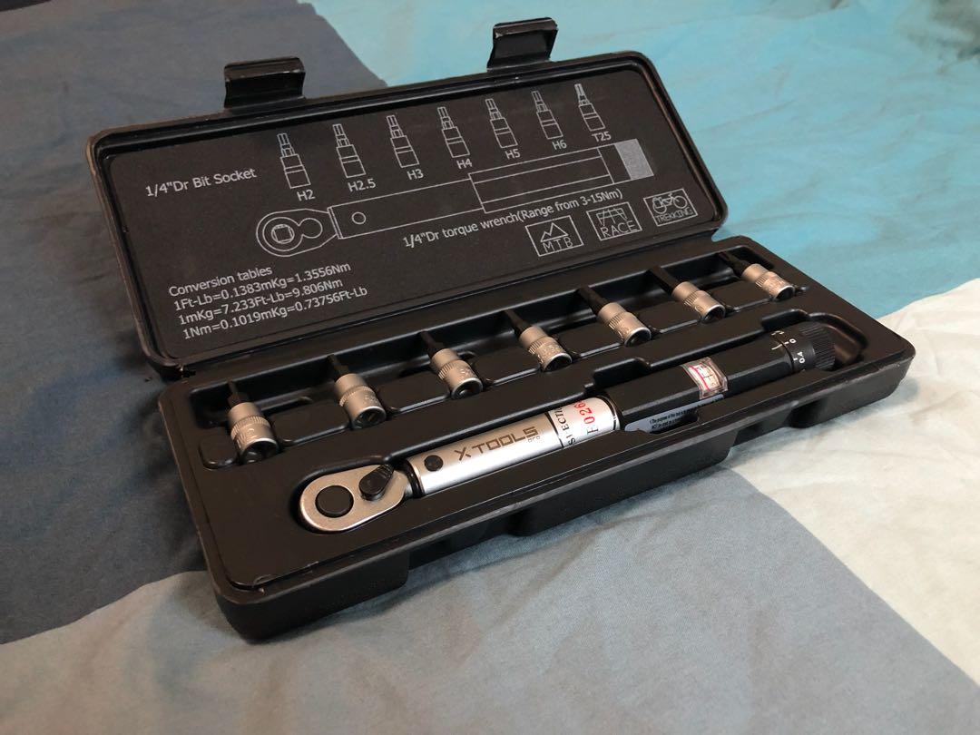 036e9de8e02 X-TOOLS Pro Torque Wrench and Bit Set