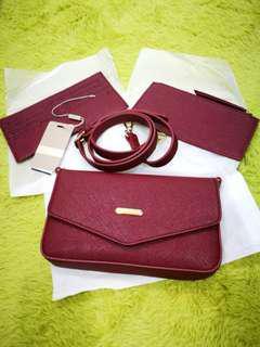 Sacha 2 way bag (sling/clutch)