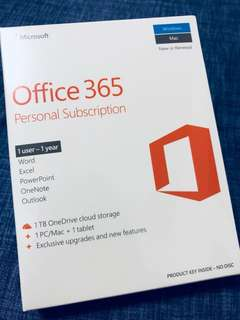 [Brand New] Office 365 Personal Subscription