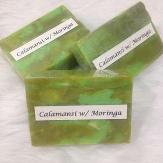 (3 for 70) Calamansi Moringa Beauty Soap
