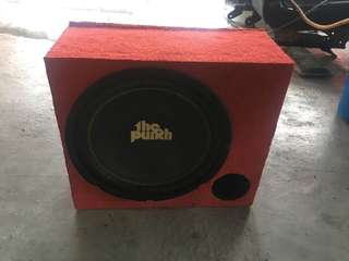 Subwoofer 10inch The Punch 300w