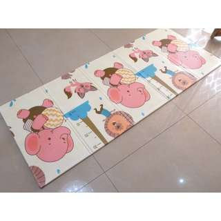 Baby plastic soft mat