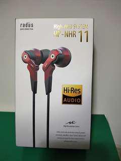 🚚 【Radius】HP-NHR11入耳式耳機