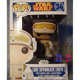 Funko Pop Luke Skywalker (Hoth)