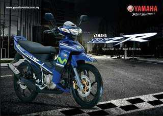 Item : Yamaha 125ZR Original 09x Model : 125ZR Movistar Official 2017