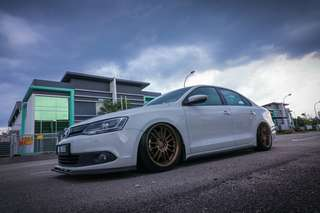 The only 1 air suspension jetta in Malaysia