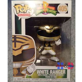 Funko Pop White Ranger, Mighty Morphin Power Rangers