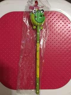 小青蛙玩具筆