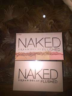 Naked urban decay strip flushed