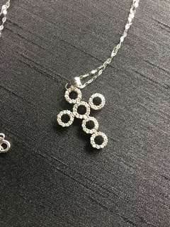 Real Diamonds Cross Pendant