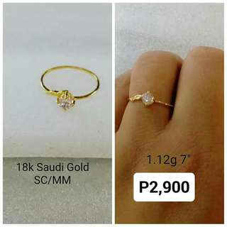 18k Saudi Gold Engagement Rings