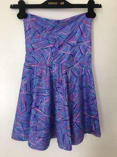 NEW w/TAG American Apparel Nylon High Waist Skirt