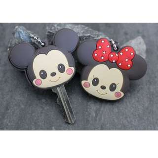 Mickey and Minnie Keycover