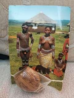 來自非洲的紀念品 祖魯族傳統服飾