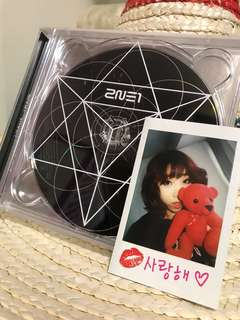 2ne1 CRUSH CD 連minzy小卡🔥