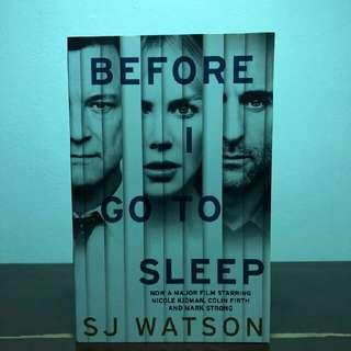 Brand New Book - Before I Go To Sleep