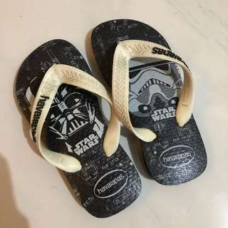 Havaianas Star Wars edition slippers