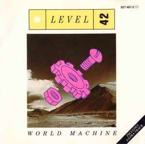 arthcd LEVEL 42 World Machine early Silver Rim West Germany press CD (Something About You, Leaving Me Now, Physical Presence etc)